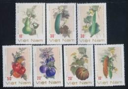 Vietnam Viet Nam MNH Perf Stamps 1988 : Fruit / Melon / Pumpkin (Ms556) - Vietnam
