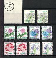 "Japan 2018.04.02 ""Omotenashi"" Flowers Series 10th (used)⑤ - 1989-... Empereur Akihito (Ere Heisei)"