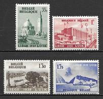 Belgium 1938 - International Water Exhibition,Liege - Ungebraucht