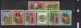 Honduras 1976 MNH Full Set Scott C592-C599 Forest Protection Deer - Honduras