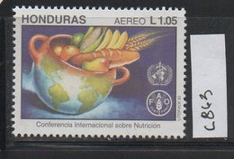 Honduras 1992 Issue MNH Scott C863 International Conference Nutrition - Honduras