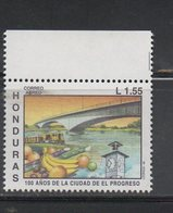 Honduras 1992 Issue MNH Scott C876 Centenario City El Progreso - Honduras