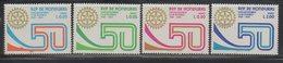 Honduras 1979 Issue MNH Full Set Scott C672-C675 Rotary 50 Anniversary - Honduras