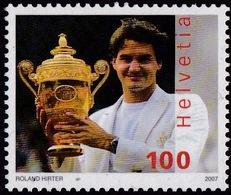 Switzerland (Sc# 1266) MNH (Complete Set Of 1) Roger Federer Tennis Player (2007) - Unclassified