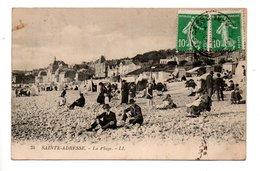76 - LE HAVRE . SAINTE-ADRESSE . LA PLAGE - Réf. N°22409 - - Le Havre
