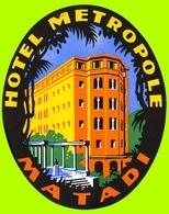 @@@ MAGNET - Hotel Metropole Matadi - Advertising