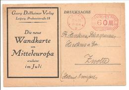 Ema Freistempler 60M Leipzig 21.6.23 Wandkarte - Deutschland