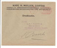 Ema Freistempler 150 000 Leipzig 30.9.23 Portogerecht>Holland - Deutschland
