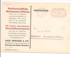Ema Freistempler 1 200 000 Frankfurt(Main) 30.9.23 Portogerecht>Holland - Deutschland