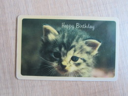 Top Ten Collecting Card, Cat,happy Birthday - Unclassified