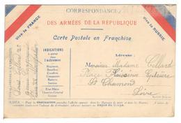 18157 - VICE LA FRANCE&RUSSIE - Marcofilia (sobres)