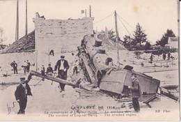 CPA - Campagne 1914.....la Catastrophe De LIZY SUR OURCQ - La Machine Déraillée - Lizy Sur Ourcq