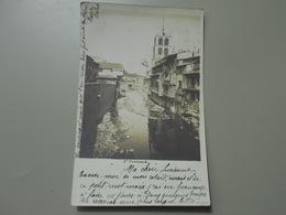 LOIRE SAINT CHAMOND CARTE PHOTO  PRECURSEUR - Saint Chamond