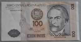 Peru' 100 Cien Intis 1987 Fior Di Cogno - Perù