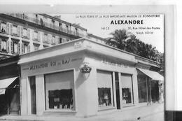 NICE  FACON PHOTO MAGASIN ALEXANDRE  CHEMISERIE  BONNETERIE RUE BLACAS GERANT LIBRE A. TRIDON    DEPT 06 - Cafés, Hôtels, Restaurants