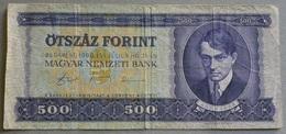 5oo Fiorni Ungheria 1990 - Ungheria