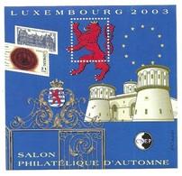 CNEP Luxembourg 2003 Salon Philatelique D' Automne - CNEP