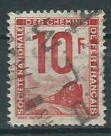 Timbre Colis Postaux 1944 Yvt N° 10 - Afgestempeld
