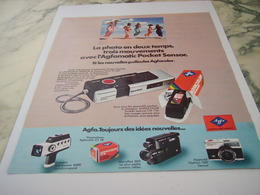 ANCIENNE PUBLICITE  AGFAMATIC 1975 - Other