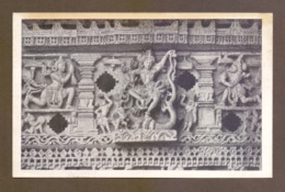 Stone Fresco Of Lord Krishna Humbling Demon Kaliya's Pride, Chennakesava, Belur, Karnataka, India, Lot # IND 163 - Religión & Creencias
