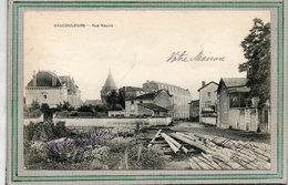 CPA - VAUCOULEURS (55) - Aspect Du Stock De Bois De La Scierie Et De La Rue Neuve En 1904 - Frankrijk