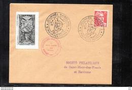 Journée Rabelais -St.Maur-des-Fossés .08/10/1950 - Lettres