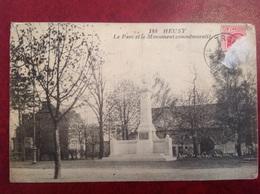 Heusy Parc Et Monument Commémoratif - Verviers