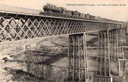 BUSSEAU- D'AHUN  Le Viaduc Du Chemin De Fer - France