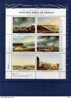 Vue Des Ports De France - Louis Garneray (Collection Hotel Potocki) - Commemorative Labels