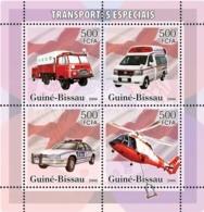 Guinea Bissau 2006 Special Transport (Fire Engine, Ambulance, Police) - Guinea-Bissau