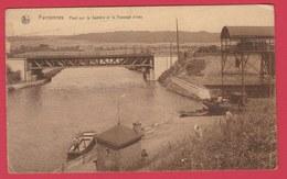 Farciennes - Pont Sur La Sambre Et Le Passage D'eau  ( Voir Verso ) - Farciennes