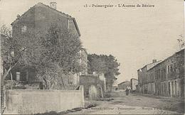 X120019 PLAN RARE HERAULT PUISSERGUIER L' AVENUE DE BEZIERS - Frankreich