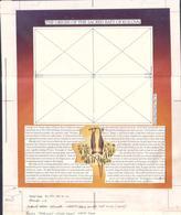 Onga - Final Artwork For 1992 Legend Of The Bat S/S + Specimen Of Issued S/S - 3 Pictures - Fledermäuse