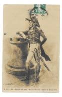 CPA SALON DE 1911 MAURICE ORANGE OFFICIER DE MARINE 1797 - Pintura & Cuadros