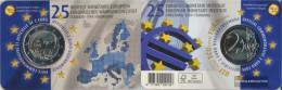 Belgium 2019 Stgl./unzirkuliert Reprint: 150.000 Stgl./unzirkuliert 2019 2 Euro 25 Years EMI - Belgium