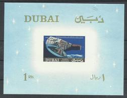 DUBAI, HOJA BLOQUE TEMA ESPACIAL  MNH  ** - Dubai