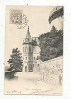 Cp, 28, DREUX ,  Ancien évéché , Dos Simple ,  Voyagée 1903 - Dreux