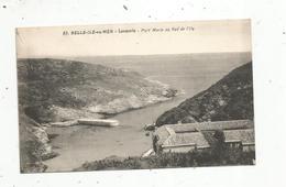 Cp, 56 , BELLE ILE EN MER , LOCMARIA , Port MARIA Au Sud De L'île,vierge,  Ed. Nozais - Belle Ile En Mer