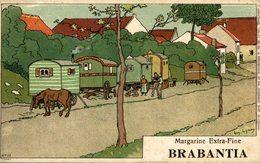 BRABANTIA MARGARINE EXTRA FINE   Collection De-ci De-là Par A. Lynen Nr 29 - Publicidad
