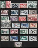 France Timbre De 1946/64  N°16 A 41 Complet Oblitéré (cote 214€) - Poste Aérienne