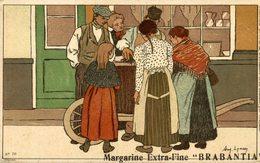 BRABANTIA MARGARINE EXTRA FINE   Collection De-ci De-là Par A. Lynen Nr 70 - Publicidad