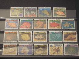 AUSTRALIA - 1984/... FAUNA MARINA 4+1+5+7 VALORI - NUOVI(++) - 1980-89 Elizabeth II