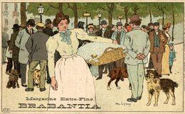 BRABANTIA MARGARINE EXTRA FINE   Collection De-ci De-là Par A. Lynen Nr 96 - Publicidad
