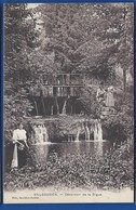 VILLEGUSIEN    Déversoir De La Digue        Animées   écrite En 1917 - Other Municipalities