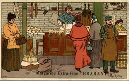 BRABANTIA MARGARINE EXTRA FINE   Collection De-ci De-là Par A. Lynen Nr 16 - Publicidad