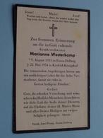 Maria WESTERKAMP > Essen-Dellwig 9 Aug 1931 > 22 Mai 1954 Krefeld ( Zie / Voir Photo ) Deutschland ! - Décès