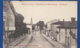 DOMMARTIN Le St PERE    Rue Principale   Animées - Autres Communes