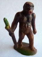 FIGURINE CLAIRET  - ANIMAUX ANIMAL SAUVAGE ZOO - GORILLE 033 2 Grande Taille  Pas Starlux - Figurillas