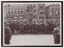 Dt- Reich (008088) Propaganda Foto Plauen Am Rande Einer Besuches Von Baldur V. Schirach Dem Reichsjugendführer - Briefe U. Dokumente