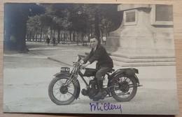 MOTO / MOTOS - Photo Carte - SAROLEA - 2 Scans - Motos